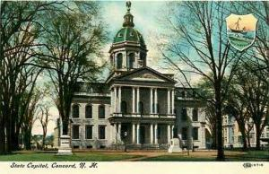 NH, Concord, New Hampshire, State Capitol, IPC & N 97-6