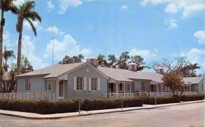Fort Myers Florida~Lee Apartments~Royal Palm Avenue~Richmond Street~1963 PC