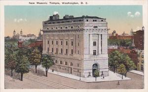 New Masonic Temple Washington D C