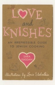 Love & Knishes Jewish Cooking Guide Sasa Kasdan Book Postcard