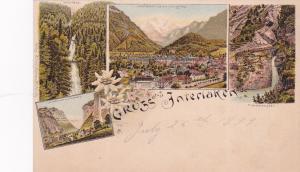 Gruss aus Interlaken , Switzerland , 1899