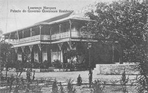 Mozambique Maputo, Lourenco Marques, Palacio do Governo Governors Residence