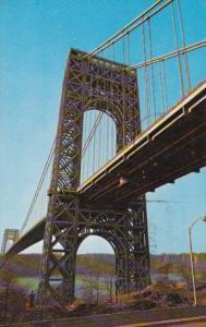 New York City The George Washington Bridge 1962