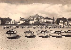 Seebad Heringsdorf Erholungsheime Strand Beach Boats Bateaux