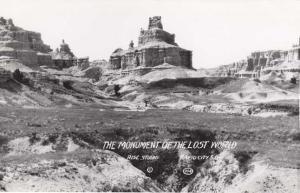 RPPC Monument of the Lost World - South Dakota