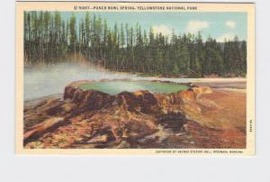 VINTAGE POSTCARD NATIONAL STATE PARK YELLOWSTONE PUNCH BOWL SPRING #3
