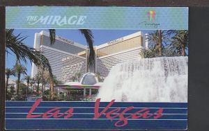 The Mirage Las Vegas NV Postcard BIN
