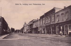 PALMERSTON , Ontario , Canada , 1900-10s ; Main Street looking East
