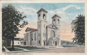 JOHNSON CITY , New York  , PU-1916 ; St. James Church