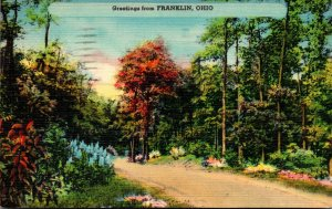 Ohio Greetings From Franklin 1945