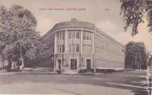 Maine Augusta Cony High School