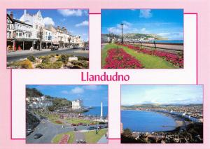 NEW Postcard, Multi View Llandudno Bay, Orme, Sea, Beach by Judges 43T