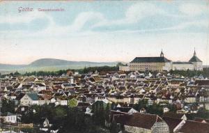 Bird's Eye View, Gesamtansicht, Gotha (Thuringia), Germany, 1900-1910s