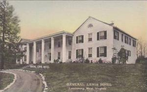 West Virginia Lewisburg General Lewis Hotel Albertype