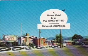 A Modern Motel In An Old World Setting Solvang California