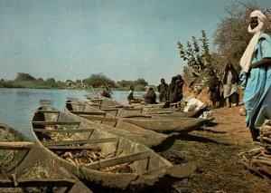 Boats,Pirogues,Ayorou,Niger BIN
