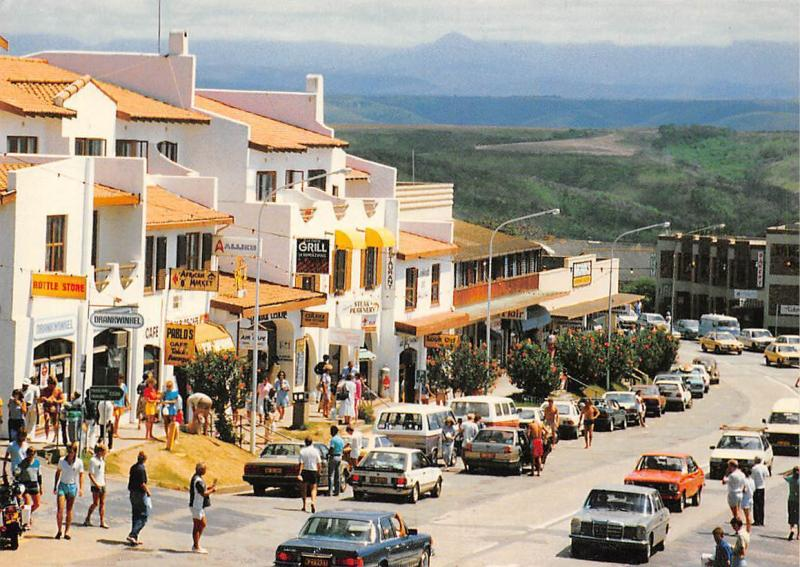 South Africa Main Street Town Centre Plettenberg Bay Market Place Auto Cars