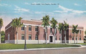 Court House, VERO BEACH, Florida, 1930-1940s