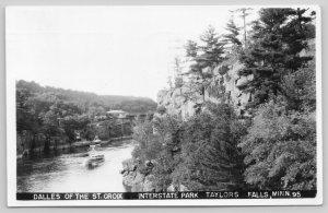 Taylors Falls Minnesota~Dalles of the St Croix~Interstate Park~RPPC