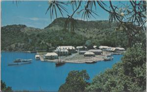 Nelson's Dockyard, Antigua - Aerial view 1960s  Much bigger now!