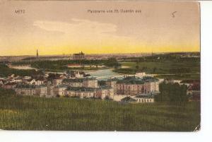 Postal 027337 : Panorama von St. Quentin aus, METZ