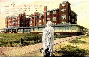 Virginia Virginia Beach Princess Anne Hotel 1911