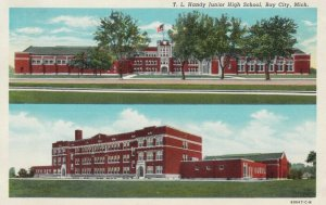 BAY CITY , Michigan , 1946 ; T.L. Handy Junior High School