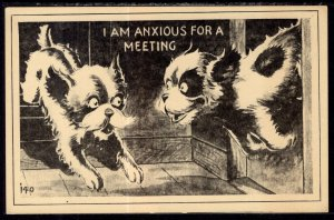 I Am Anxious For a Meeting Dog Comic