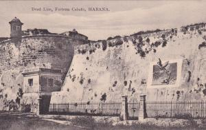 HABANA, Cuba, 1900-10s; DeadLine, Fortress Cabana