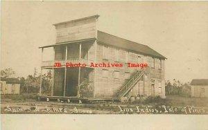 West Indies, Isles of Pines, Los Indios, RPPC, Symes & Symes General Store