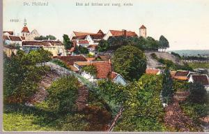 Germany - Pr. Holland (Paslek) Blick auf Schlodd und Kirche