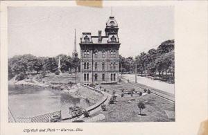City Hall And Park Warren Ohio