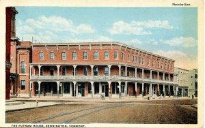 VT - Bennington. The Putnam House
