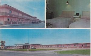 3-Views, Pal's Motel, Val d'Or, Quebec,  Canada, PU-1960