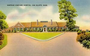 MA - Martha's Vineyard Island. Oak Bluffs. Martha's Vineyard Hospital