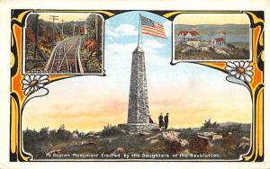 Mt Beacon Monument Fishkill, New York Postcard