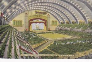 New Jersey Atlantic City Interior World's Largest Convention Hall and Au...