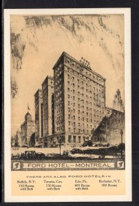 Ford Hotel,Montreal,Quebec,Canada
