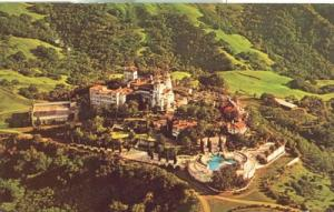 Aerial View of Hearst Castle and Grounds, San Simeon, Cal...