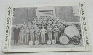 Indian Orchard Band - Massachusetts MA Vintage Collectible Postcard 1907-1915