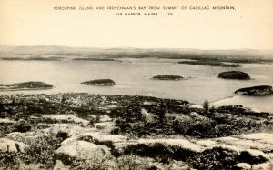 ME - Bar Harbor. Porcupine Island & Frenchman's Bay