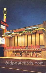 Horseshoe Club Gambling Postcard Postcards  Horseshoe Club
