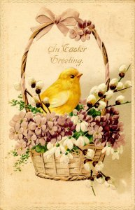 Greeting - Easter     (chick)