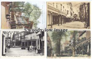 tb0139 - Kent - The Pantiles - Tunbridge Wells - 12 postcards