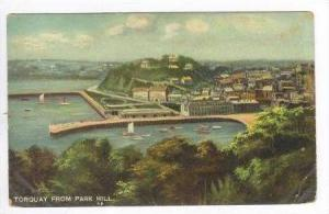Aerial View from Park Hill, Torquay, England, PU-1911