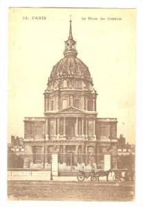 Le Dome Des Invalides, Paris, France, 1900-1910s