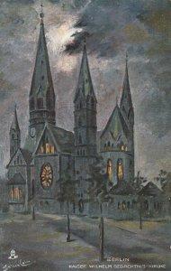 BERLIN, Germany, 1900-10s ; Kaiser Wilhelm Gedachtnis-Kirche ; TUCK 9001