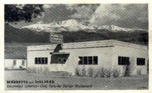 Marretta & Dalpiaz Colorado Springs, CO, USA Postcard Post Cards Old Vintage ...