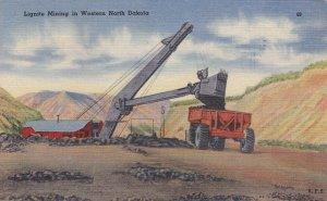 Lignite Mining in Western NORTH DAKOTA, PU-1947