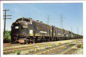 Penn Central Railroad, Cleveland Ohio, Train